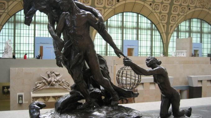 l'age mur une sculpture de camille claudel