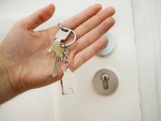 clefs portes