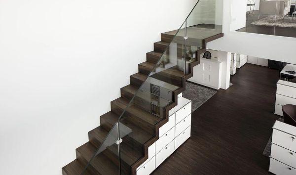 escalier zig zag
