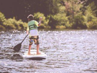 paddle sur la seine