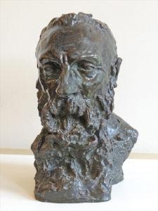 Visage de Rodin par Camille Claudel